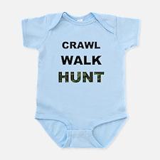 Crawl Walk Hunt Onesie