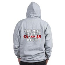 Quality Canadian Parts Zipped Hoody
