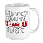 Quality Canadian Parts Large Mug