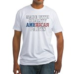 Quality American Parts Fitted T-Shirt