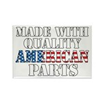 Quality American Parts Rectangle Magnet