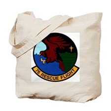 76th Rescue Flight Tote Bag