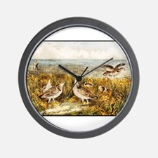 Unique Quails Wall Clock
