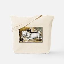 Unique Pupies Tote Bag