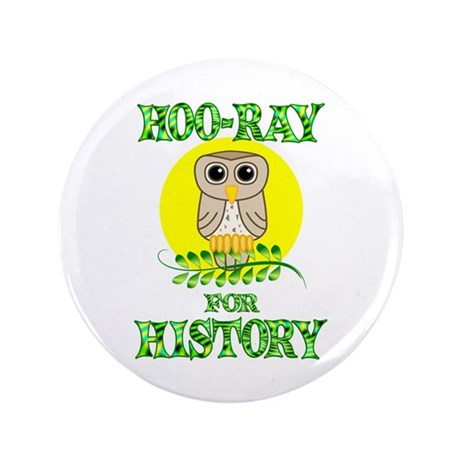 """History 3.5"""" Button (100 pack)"""