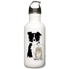 Cute White shepherd Water Bottle