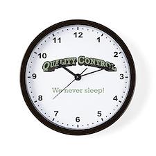 We never sleep! Wall Clock