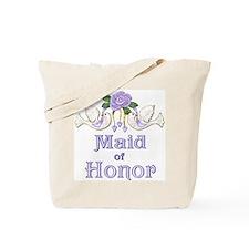 Dove & Rose - Maid Purple Tote Bag