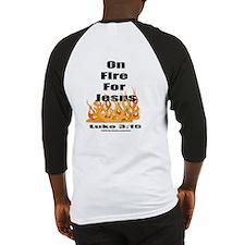 On Fire for Jesus Baseball Jersey