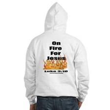 On Fire for Jesus Hoodie