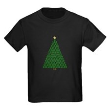 Binary Merry Christmas Tree T