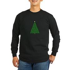 Binary Merry Christmas Tree T