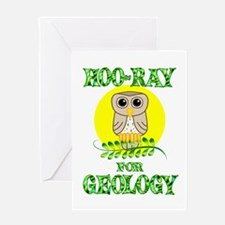 Geology Greeting Card