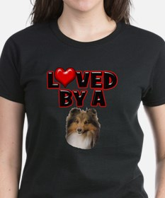 Loved by a Sheltie Tee