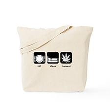 Eat Sleep Mary Jane Marijuana Tote Bag