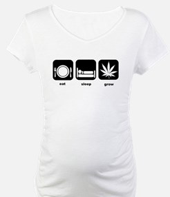 Eat Sleep Mary Jane Marijuana Shirt