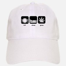 Eat Sleep Mary Jane Marijuana Baseball Baseball Cap