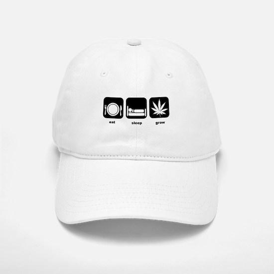 Eat Sleep Mary Jane Marijuana Baseball Baseball Cap