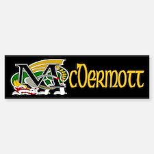 McDermott Celtic Dragon Bumper Bumper Sticker