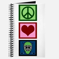 Peace Love Hockey Journal