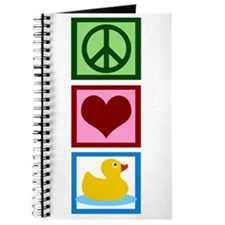 Peace Love Ducks Journal