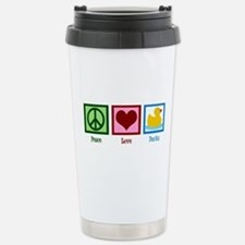 Peace Love Ducks Travel Mug