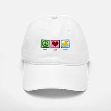 Peace Love Ducks Cap