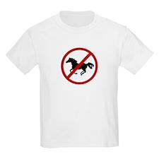 Anti Horses T-Shirt