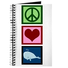 Peace Love Whales Journal