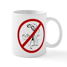Anti Golfers Mug