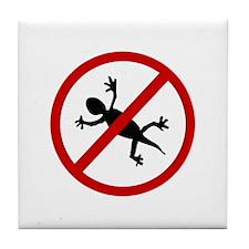 Anti Geckos Tile Coaster