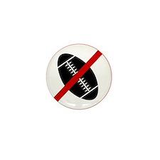 Anti Football Mini Button