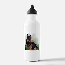 German Shepherd Mic Water Bottle