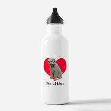 A Golden Doodly Valentine Water Bottle