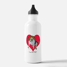 Daisy the Beagle Water Bottle
