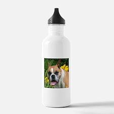 Boxer Portrait Water Bottle
