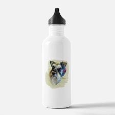 Billi the Schnauzer Water Bottle