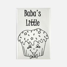 Baba's Little Cupcake Magnet