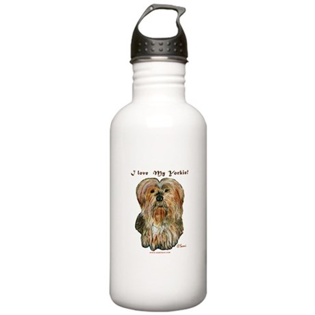 Benji the Yorkie Stainless Water Bottle 1.0L
