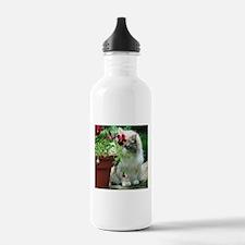 Pansy Cat Water Bottle