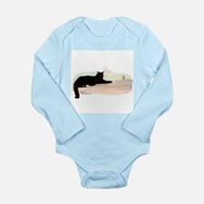 Cat & Finch Long Sleeve Infant Bodysuit