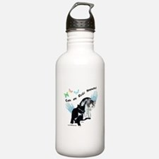 Cats Are Reiki Magnets Water Bottle
