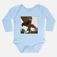 Ostara, Red Tailed Hawk Landi Long Sleeve Infant B