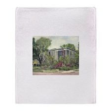 Canal Fulton OH Library Throw Blanket