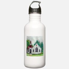 Clinton OH Methodist Church Water Bottle