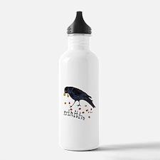 Primitive Crow Water Bottle