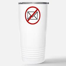 Anti Mail Stainless Steel Travel Mug