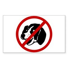 Anti Dogs Decal