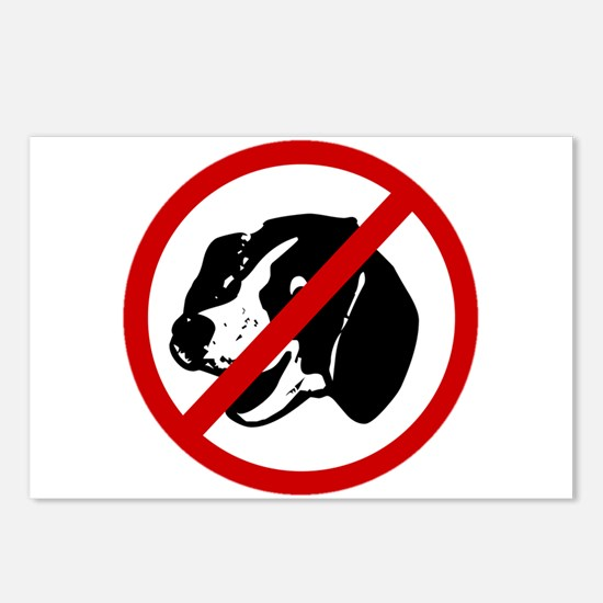 Anti Dogs Postcards (Package of 8)