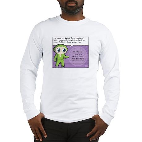 """Eat Vegetables"" Long Sleeve T-Shirt"